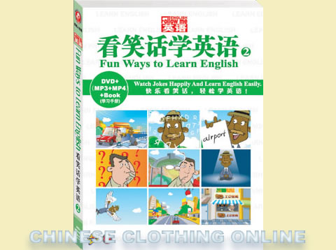 Fun Ways to Learn English (2) (DVD+MP3+MP4+Text)