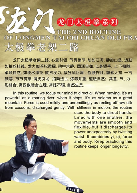 The 2nd Routine of Longmen Tai Chi Chuan Old Frame
