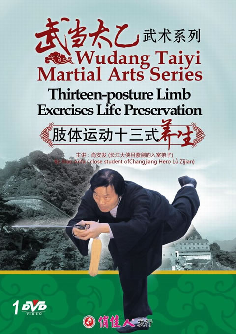 Wudang Taiyi Martial Arts Series - Thirteen-posture Limb Exercises Life Preservation