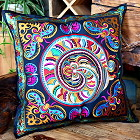 Chinese Ethnic Embroidery Cushion Cover