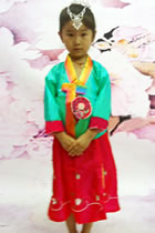 Girl's Little Korean Hanbok (RM)