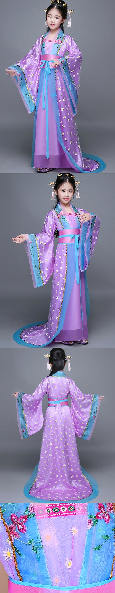 Girl's Little Imperial Concubine Train-length Hanfu (RM)
