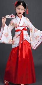 女童漢朝曲裾