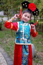Bargain -Girl's Qing Dynasty Gege Outfit (RM)