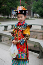Girl's Qing Dynasty Empress Court Dress (RM)