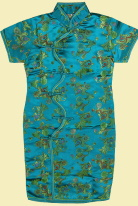 Girl's Morning Glory Cheongsam Dress (RM)