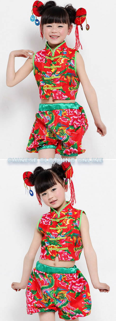 Girl's Ethnic Dancing Costume (RM)