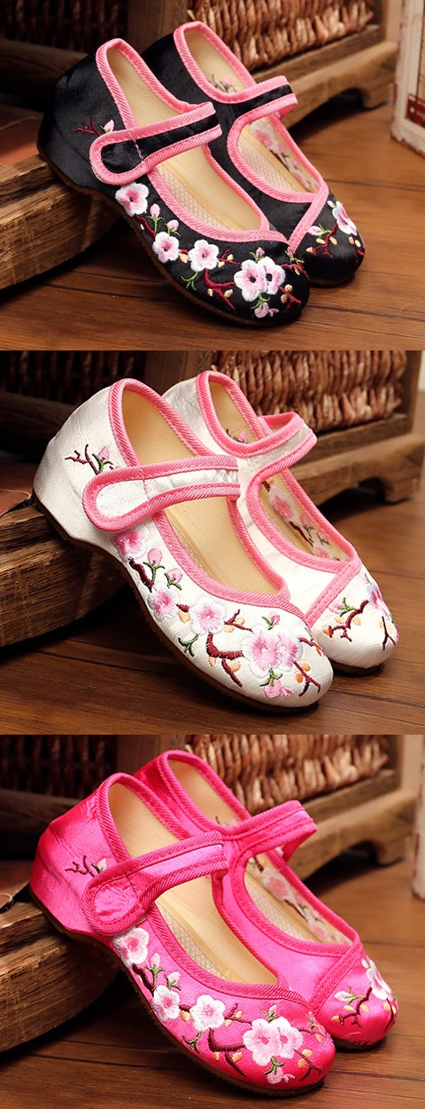 Girl's Phoenix Embroidery Shoes (Multicolor)