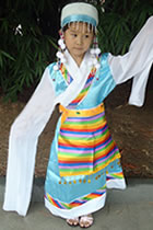 Girl's Little Tibetian Costume (RM)