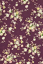 Fabric - Floral Silk (Multicolor)