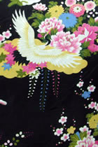 Fabric - Printed Imitation Silk