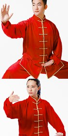 Professional Taichi Kungfu Uniform with Pants - Velvet (RM)