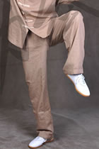 Taichi Casual Wear Pants - Linen - Light Brown (RM)
