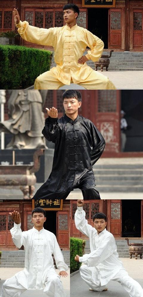 Mandarin Collar Binding-cuff Jacquard Kung Fu Jacket / Shirt (CM)
