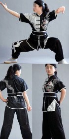 Dragon Embroidery 2-piece Kung Fu / Taichi Suit (RM)