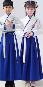 男女童漢朝曲裾