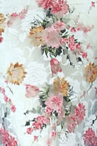 Fabric - Printed Lace Gauze