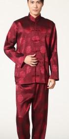 Mandarin Longevity Embroidery Jacquard Suit (RM)