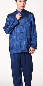 Dragon Embroidery Mandarin Jacquard Suit (RM)
