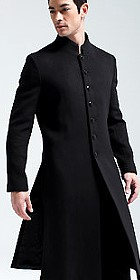 Standing Collar Long Coat (CM)