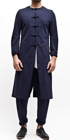 Round-collar Long Coat (CM)