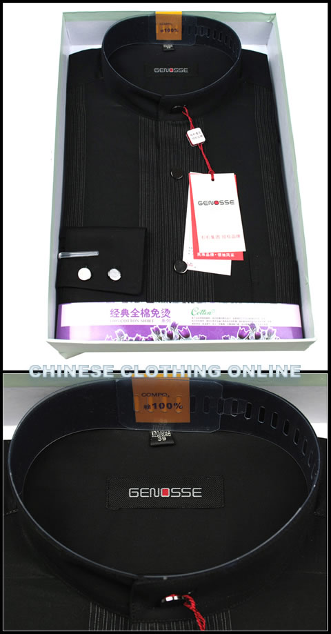 Long-sleeve Round Collar Shirt (RM)