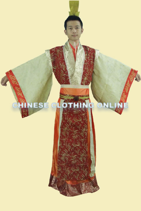 Han Scholar-bureaucrat Court Dress w/ Crown (RM)