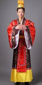 漢朝皇帝服連冠(成衣)