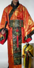 Han Dynasty Imperial Dress (Multicolor)