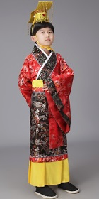 Boy's Han Emperor Dress w/ Crown (RM)