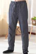 Mandarin Coarse Cotton Pants (RM)