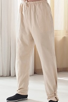 Bargain - Mandarin Coarse Cotton Pants (RM)