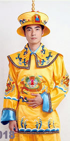 Qing Dynasty Imperial Court Dress w/ Crown (RM)
