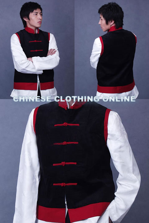 Two-color Mandarin Vest (CM)