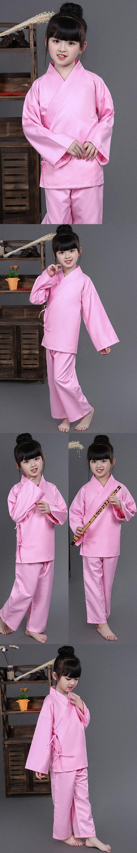 Kid's Hanfu Underwear of Top w/ Pants Option (RM)