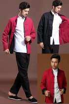 Mandarin Reversible Cotton Jacket (CM)