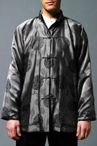 Mandarin Silk Jacquard Jacket (CM)