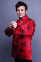 Mandarin Jacquard Jacket (CM)