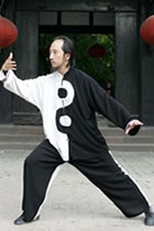 Bargain - Taichi Performance Uniform (Black/White)
