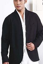 Mandarin V-collar Jacket (CM)