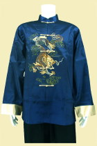Bargain - Dragon Embroidery Mandarin Thai Silk Jacket (RM)
