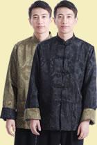 唐裝兩面穿綢緞夾克(成衣)