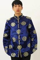 Mandarin Longevity Icons Damask Jacket (RM)