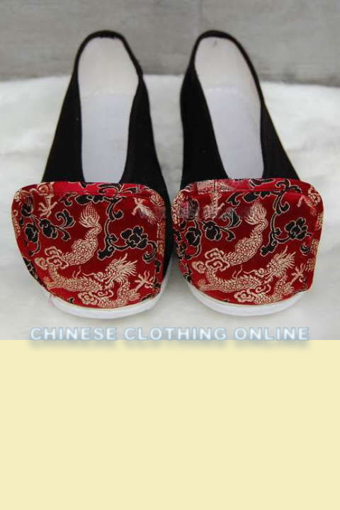 Qiaotoulu - Tipping-Head Cloth Shoes (Multicolor)
