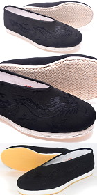 Chinese Round Opening Embroidery Cloth Shoes (RM)