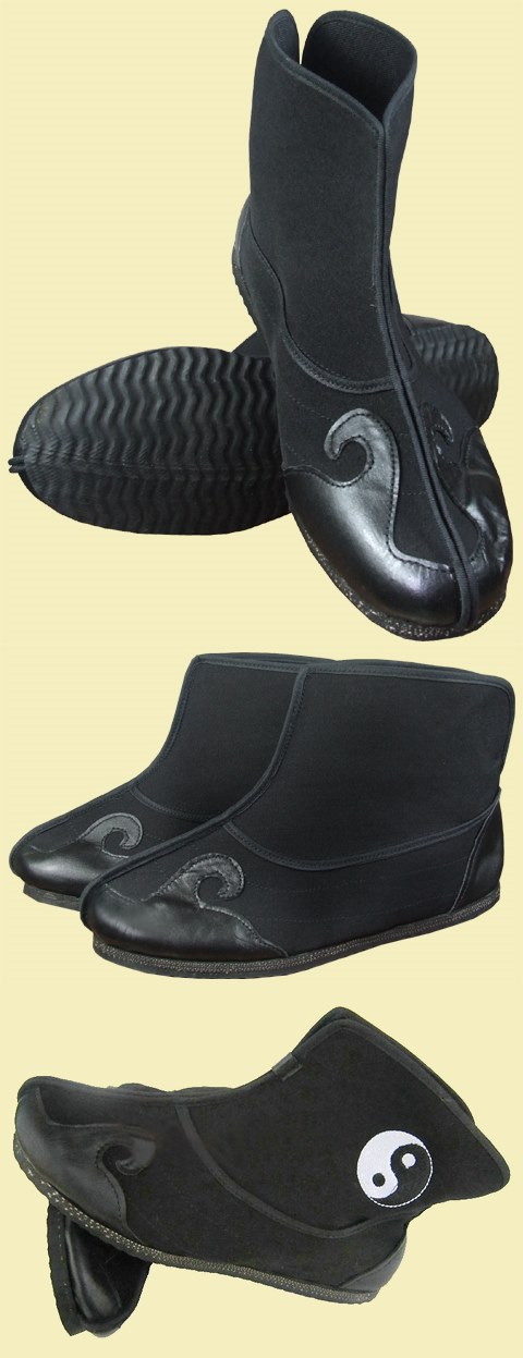 Cloth Boots with Cloud Hook Welts