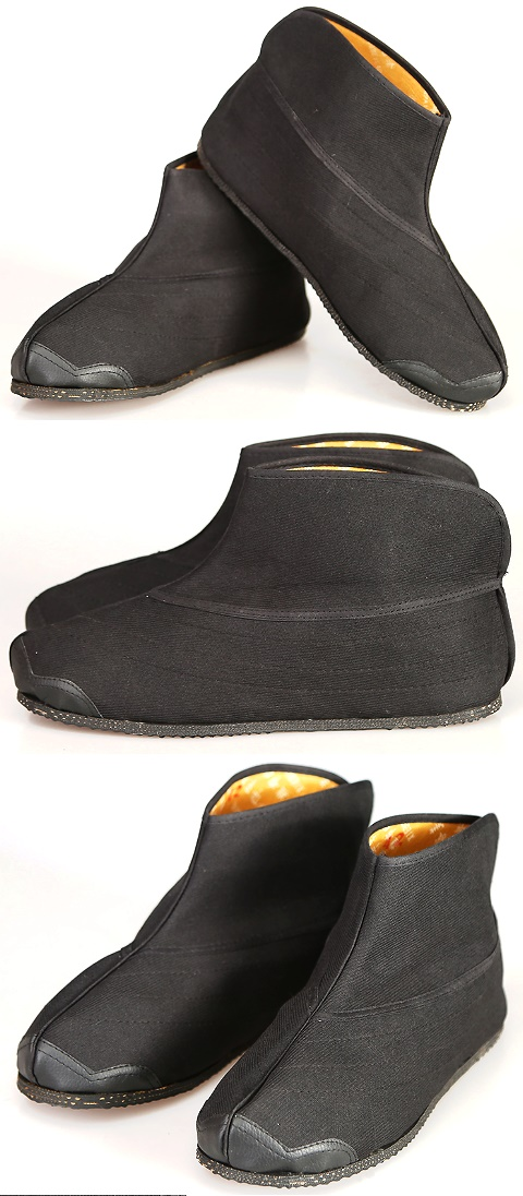 Cloth Boots with Toecap Welts