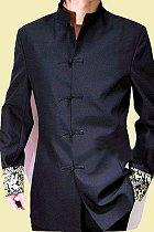 Modernised Mao Suit w/ Brocade Cuffs (RM)