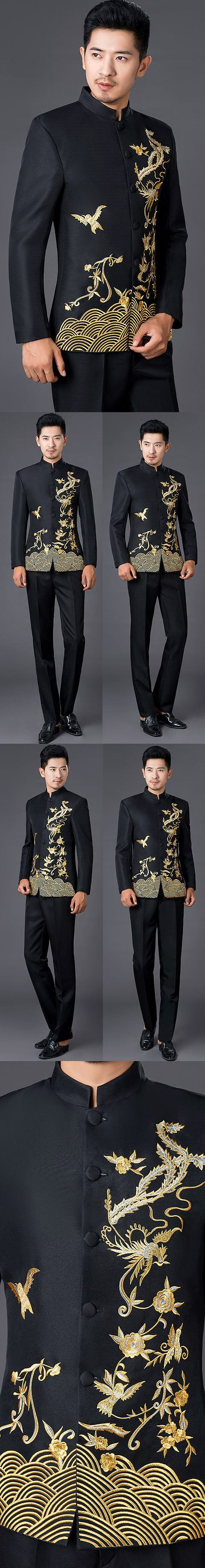 Modernised Embroidery Mao Jacket (RM)