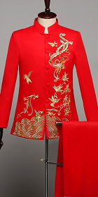 Modernised Embroidery Mao Jacket (RM)